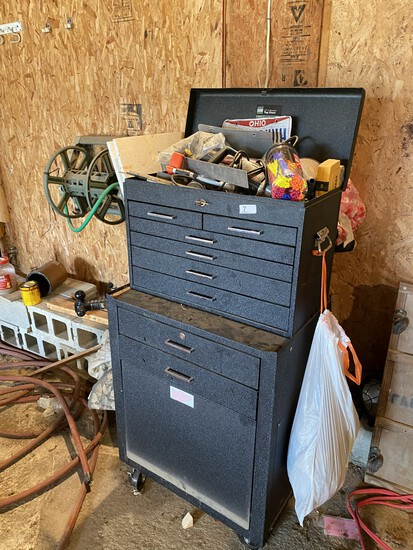 Nice Metal Toolbox WITH Contents