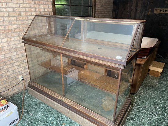 2 Nice Antique Store Display cabinets