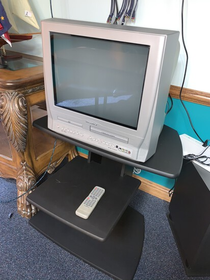 Magnavox DVD / vhs Combo with Remote and Stand