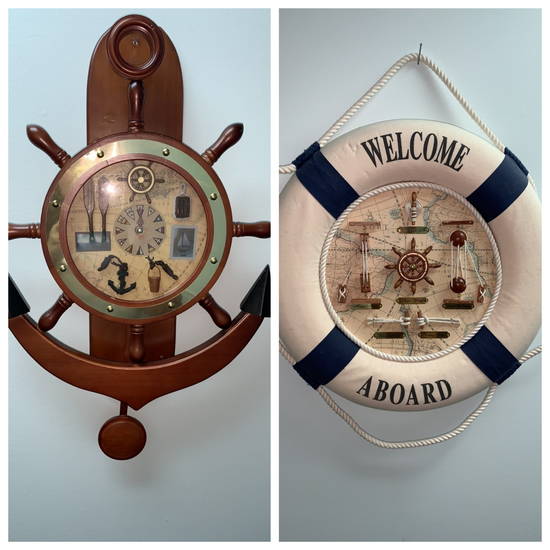 2 Nautical Decor Piece