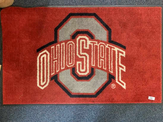"Ohio State Entrance Mat 56"" x 35"""