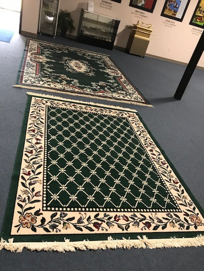 2 Rugs  6 x 8 and 12 x 8
