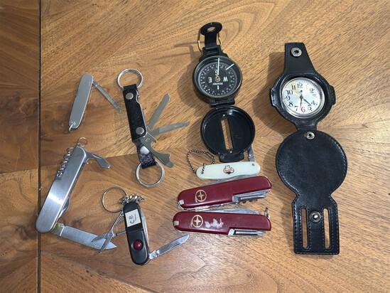 Assorted knife lot
