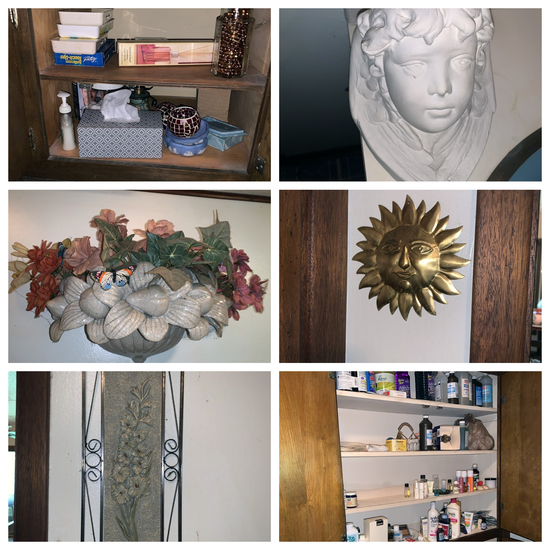 Cleaning Rights to Upstairs Bathroom- Health and Beauty, Frames, Cherub Head and More