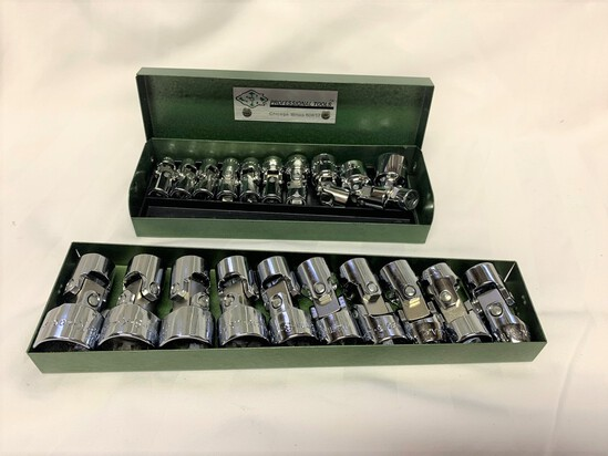 BIG GROUP! SK Sockets and Wrenches, Metric 1/4 Drive Swivels and 3/8 Drive Swivels.