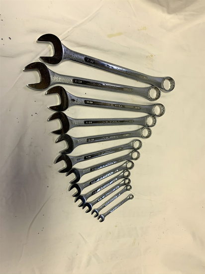 SK 12pc Standard Combination Wrench Set