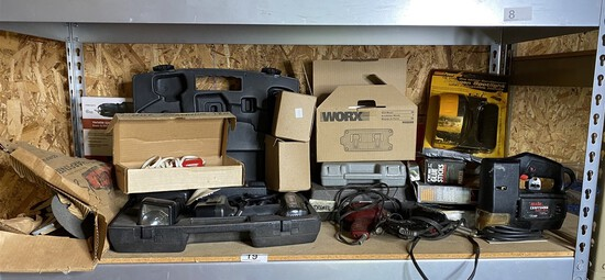 Lot of assorted power tools and more