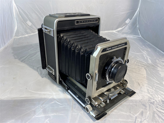 Vintage Super Speed Graphic Graflex Camera with Lens