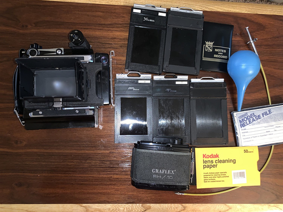 Graflex RH/10 and Film Holders