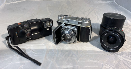 Vintage Camera and Lens Lot