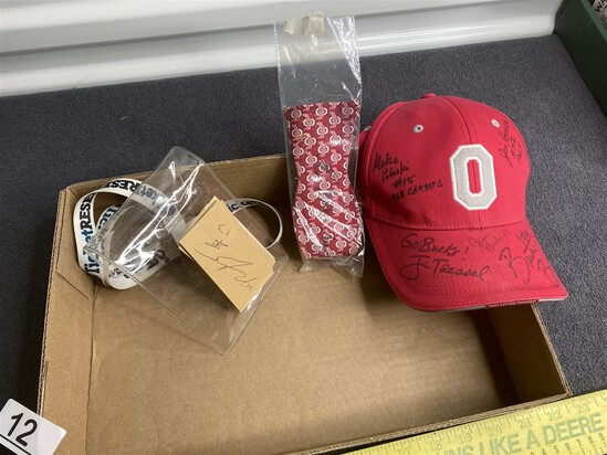 Group lot of Ohio State University SIgned Items