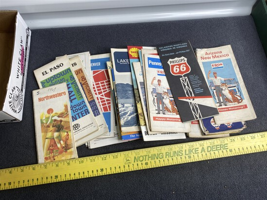 Group lot Vintage Advertising Travel Brochures