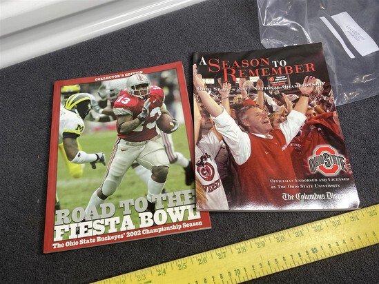 Ohio State 2002 Championship Fiesta Bowl Items