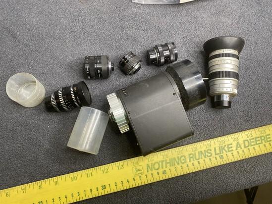 Vintage Movie Camera Lense Lot