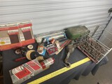 Heavy Tow Chain, tackle box, torch tank etc