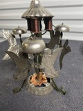 Rare Early Angels, Bells Electricity Driven Christmas Decoration Piece