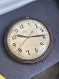 Vintage Telechron Electric Institutional Clock