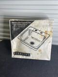 Sterling Sink in Box
