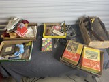 Group lot of misc vintage and antique items