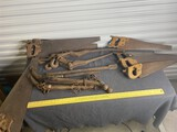Group lot of assorted Horse Hames, Saws - antique