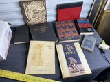 Group lot of assorted Antique, collectible books