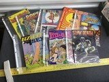 Group lot of Pornographic, Naughty Comic Books