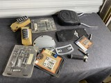 Group lot of Harley Davidson motorcycle parts and accessories