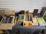 Large group lot of vintage books