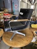 Vintage mid Century Techfab chair with RCA logo