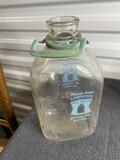 Vintage Lawson's Half Gallon Milk Jar or bottle