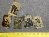 Group lot of antique tintype photos