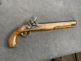 Vintage Black Powder Flintlock Pistol