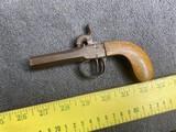 Antique Percussion Large Bore Pocket Pistol