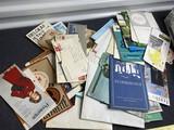 Large lot of vintage European travel paper