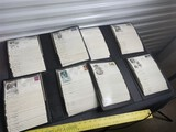 Group lot of 4 binders of antique postal covers