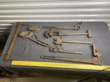 Antique Large tool lot including early