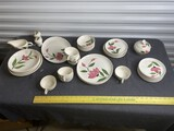 Group lot of 1950s Stetson China Similar to Franciscan