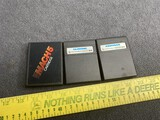 3 Vintage Computer Game Cartridges