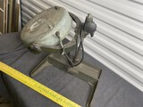 Unusual Heavy Duty Antique Industrial Magnifying Lamp