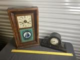 Pair of antique clocks