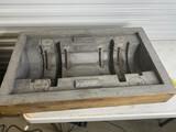 Large Unusual Vintage Industrial Wooden Mold