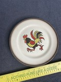 Vintage Mid Century Modern Plate w/Rooster