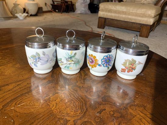 4 Egg Coddler  Cups