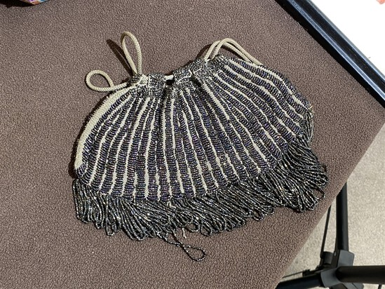 Antique Art Deco Era Beaded Purse