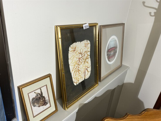 Group of 3 framed prints including P Buckley Moss