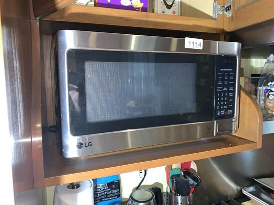 LG stainless Steel Microwave