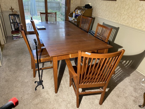 Vintage MCM Table and Chairs
