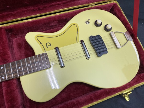 Danelectro Cream Colored Electric Guitar
