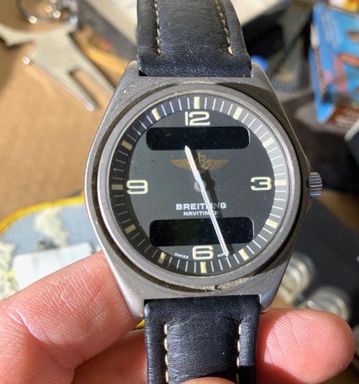 VIntage Breitling Navitimer Watch