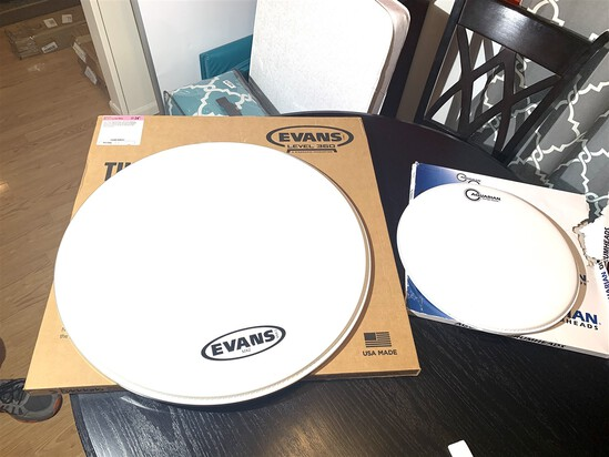 Two New Drumheads